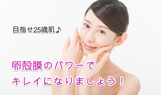 卵殻膜化粧品 おすすめ